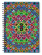Pattern One... Spiral Notebook