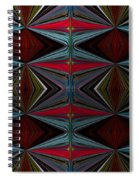 Patterned Abstract 2 Spiral Notebook
