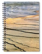 Patterns At Yellowstone #1 Spiral Notebook