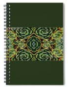 Patterns Spiral Notebook
