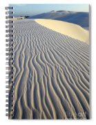 Patterns In The Sand Brazil Spiral Notebook