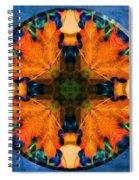 Patterns Of Autumn Spiral Notebook