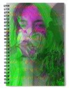 Patti Smith Dancing Barefoot Spiral Notebook