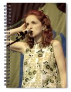 Patty Griffith Spiral Notebook