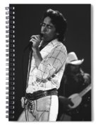 Paul And Boz 1977 Spiral Notebook