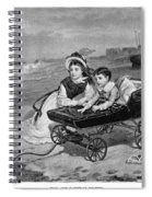 Paul And Florence Dombey Spiral Notebook