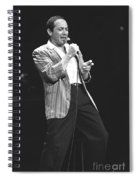 Paul Anka Spiral Notebook