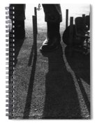 Paul Bunyon Statue Chairs Garbage Can Posts Leo's Auto Supply Tucson Arizona Spiral Notebook