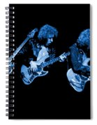 Paul Harwood Of Mahogany Rush Plays The Blues Spiral Notebook