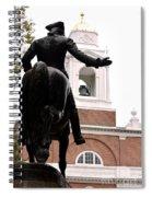 Paul Revere's Ride Spiral Notebook