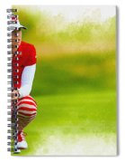 Paula Creamer - The Ricoh Women British Open Spiral Notebook