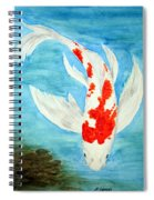 Paul's Koi Spiral Notebook