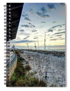 Pavilian And The December Sunrise Spiral Notebook