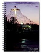 Pavilion At Twilight II Spiral Notebook