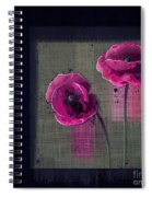 Pavot - S1c12j033036161bl1 Spiral Notebook
