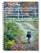Paw Prints The Calling Spiral Notebook