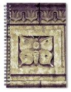 Pawnee Butterfly Frieze II Spiral Notebook