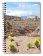 Pawnee Buttes Colorado Spiral Notebook