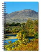 Payette River And Squaw Butte Spiral Notebook