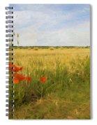Paysage De Normandie Spiral Notebook