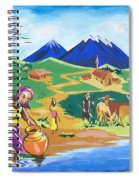 Paysage Du Nord Du Rwanda Spiral Notebook
