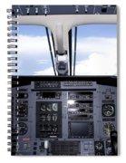 Pc 12 Cockpit Spiral Notebook