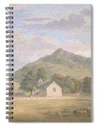 Haymaking At Dolwyddelan Spiral Notebook