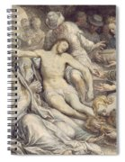The Lamentation Over The Dead Spiral Notebook