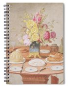 Pd.869-1973 Still Life With A Vase Spiral Notebook