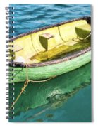 Pea-green Boat - Impressions Spiral Notebook