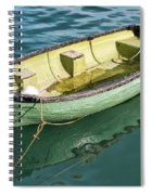 Pea-green Boat Spiral Notebook