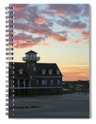 Oregon Inlet Life Saving Station 2693 Spiral Notebook
