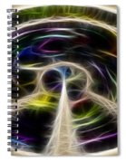 Peace And Light Spiral Notebook