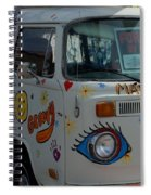 Peace And Love Van Spiral Notebook
