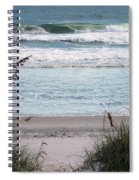 Peace At The Beach Spiral Notebook