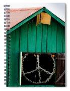 Peace Barn Spiral Notebook