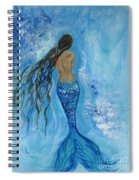 Peace Beneath Spiral Notebook