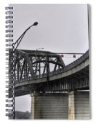 Peace Bridge 00a  Spiral Notebook