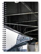 Peace Bridge 00e Spiral Notebook