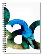 Peace Full 13 Spiral Notebook