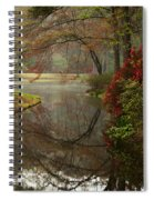 Peace In A Garden Spiral Notebook