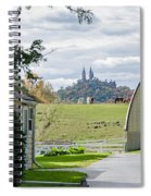 Peace In The Country  Spiral Notebook