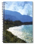 Peace In The Valley - Landscape Art Spiral Notebook