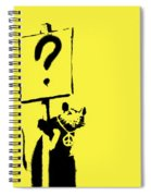 Peace / Love Protester  Spiral Notebook