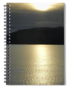 Peace On The Water Spiral Notebook