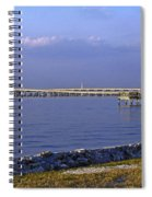 Peace River Bridge Spiral Notebook