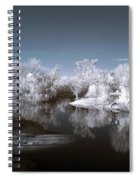 Peace River North Near Infrared Arcadia Florida Usa Spiral Notebook