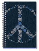 Peace Symbol Design - Bld01t01   Spiral Notebook