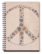 Peace Symbol Design - S77at01 Spiral Notebook