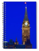 Peace Tower Spiral Notebook